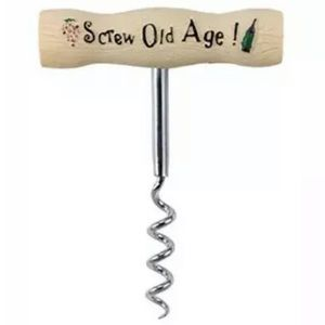 Old Whiney Birthday WINE Corkscrew Gift